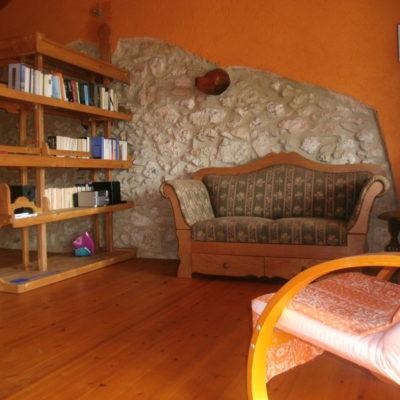 Sitzplatz im oberen Bereich